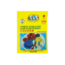 jaya grocer swallow globe brand yellow colour agar agar powder