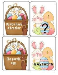 free easter speeches free easter pronoun card great for speech therapy or a