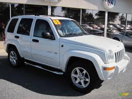 jeep liberty 2003 4x4 2003 white jeep liberty limited 4x4 70081519 gtcarlot com