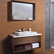 Bathroom Cabinets Wood Gorgeous Wooden Bathroom Cabinet Sanblasferry In Cabinets Best