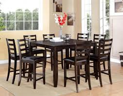 dining room amusing black dining room table 6 chairs notable