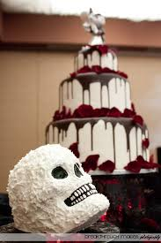 spookily delicious halloween wedding cakes offbeat bride