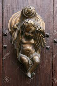 Bat Door Knocker by Brass Door Knocker Croft Ring Door Knocker Polished Brass