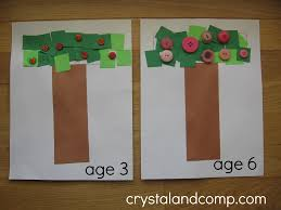 crystalandcomp letter of the week preschool craft for t