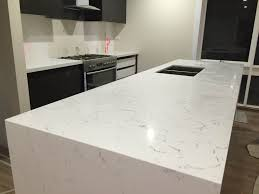 prefabricated carrara quartz benchtop prefabricated benchtops carrara prefabricated kitchen island