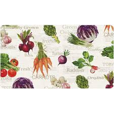 Vegetable Kitchen Rugs Trafficmaster 20 In X 36 In Veggie Foam Mat 60122075320x36 The