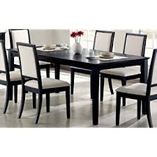 Dining Room Table Black Coaster Home Furnishings 101561 Casual Dining Table