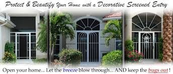 front entry doors naples fl decorative screen doors fl u2026 pca products