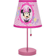 disney minnie mouse table lamp walmart