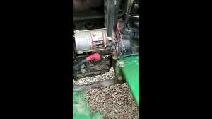 john deere 4510 block heater install part 1 youtube