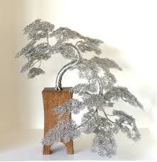 beautiful wire tree sculptures by clive maddison designwrld