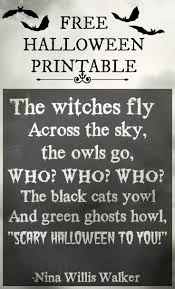 Scary Halloween Poems 115 Best Halloween Sentiments Images On Pinterest Halloween
