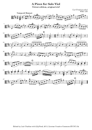 Pieces Meaning 27 Pieces For Bass Viol Abel Carl Friedrich Imslp Petrucci