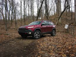 brown jeep 2016 jeep cherokee trailhawk review a wrangler for the suburban set