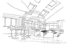 image gallery lounge sketch