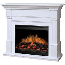 dimplex essex 54 inch electric fireplace with purifire white