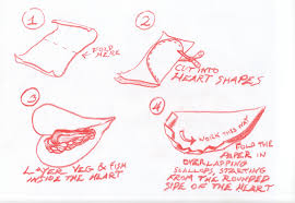 How To Fold Paper For Envelope Parchment Baked Salmon With Ayurvedic Spices The Spice House Blog