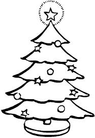 christmas tree coloring tree christmas tree