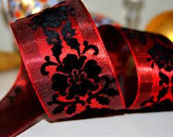 wire edged ribbon purple glitter on black organza wire edged wired ribbon 2 5 wide