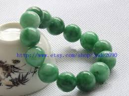 beaded bracelet charms images Jadeite jade round bead prayer beads charm beaded bracelet jpg