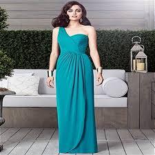 charming emerald bridesmaid dress 2016 one shoulder neckline