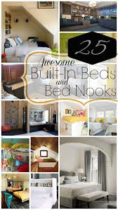 bedroom nook remodelaholic 25 awesome built in beds and bed nooks