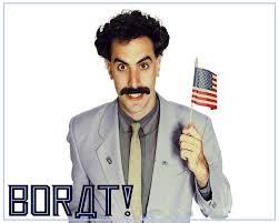 Borat Meme - baron cohen borat and wife give 1 million to help syrian refugees