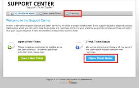 Ticket Desk Check Ticket Status U2013 Supportpro Help