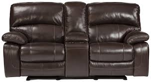Loveseat With Recliner Amazon Com Ashley U9820091 Damaicio Dark Brown Double Glider