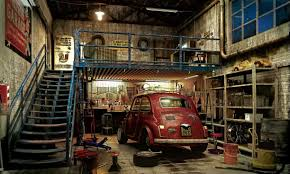 garage one car garage plans with loft muscle car garage ideas