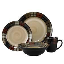 Corelle Dishes Ebay Amazon Com Pfaltzgraff Everyday Calico 16 Piece Dinnerware Set