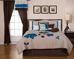 Bedding Sets Blue Brown And Blue Bedding Sets Home Comforters Valverde Pc King