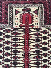 Vintage Tribal Rugs Baluch Tribal Rug Vintage Rug With Prayer Design 3 U00272 X 4 U00273 97