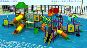 outdoor water game structure water playground for sale