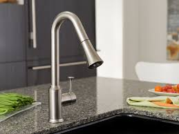 Pull Down Kitchen Faucet by American Standard 4332 300 002 Pekoe Pull Down Kitchen Faucet