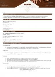 Coordinator Resume Sample by Academic Coordinator Resume Samples Abhizz Com