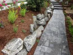 landscape contractor broomfield landscaping with boulders youtube