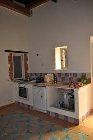 cucine con piano cottura ad angolo foto angolo cottura con cucina in muratura realizzata con