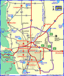 map of areas and surrounding areas denver metro local area map colorado vacation directory