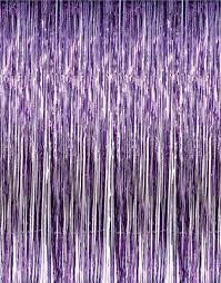 Pink Hanging Door Beads by Amazon Com 1 X 3 U0027 X 8 U0027 Purple Tinsel Foil Fringe Door Window