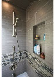 Modern Tile Designs For Bathrooms 30 Grey Shower Tile Ideas And Pictures