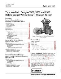 v150 v200 v300 1 12 inch valve instruction manual by rmc process