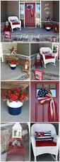 patriotic porch red white u0026 blue small spaces just plum crazy