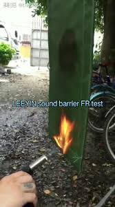 Sound Barrier Curtain Soundproofing Material Acoustic Soundproof Curtains And Sound