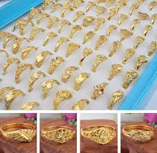rings fashion gold images 2017 new fashion girl lady plated gold ring mixed multi style jpg