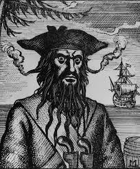 Black Beard Flag Blackbeard The Pirate Myths Truths And Legends