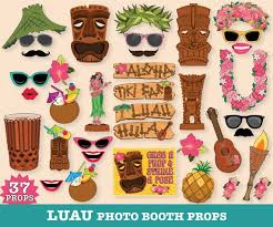 Printable Hawaiian Decorations Best 25 Luau Photo Booths Ideas On Pinterest Luau Party