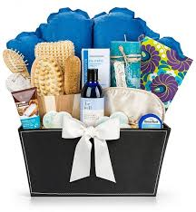 spa baskets serenity spa gift set spa gift baskets for someone who