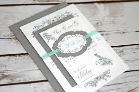 wedding invitations shabby chic floral wedding invitation suite