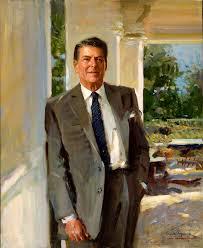 president ronald reagan everett raymond kinstler